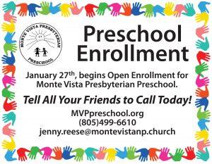 Preschool Newbury Park Preschool Enrollment